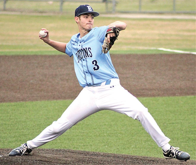 Bartlesville High senior pitcher Jakob Hall twirled his sixth complete-game shutout of the season in Friday's 1-0 Senior Night victory thriller against Tulsa Washington. Hall, who has committed to play baseball for Oral Roberts University, has 98 K's and an 0.63 earned run average.