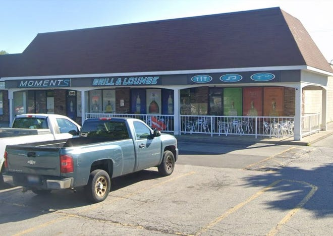 Moments Grill & Lounge, located at 2545 Petzinger Road on the Southeast Side, was shuttered Friday after the Columbus City Attorney's office obtained a temporary injunction in Franklin County Environmental Court. The bar has been the scene of more than 100 police calls, including seven shootings and a stabbing, and had been caught violating state and city health codes.