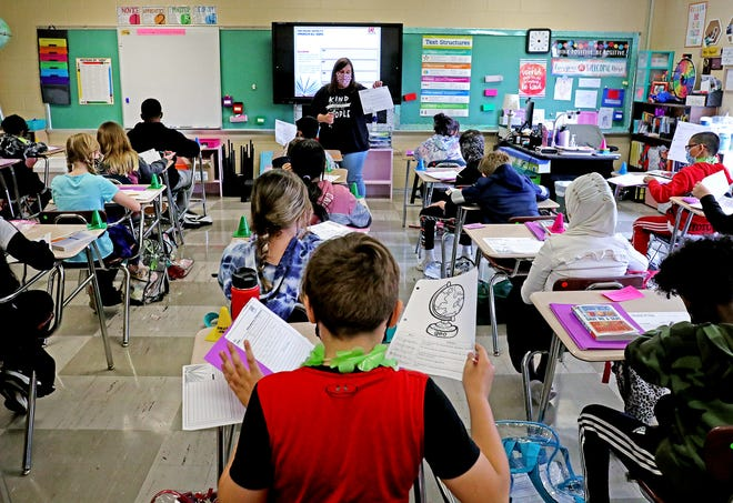 Ohio lawmakers are working through hundreds of differences in the state's two-year budget bill, including how to fund K-12 schools.