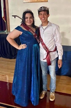 King wasJoey Perez and Queen was Kathryn Jessielynn Rae Rodriguez.
