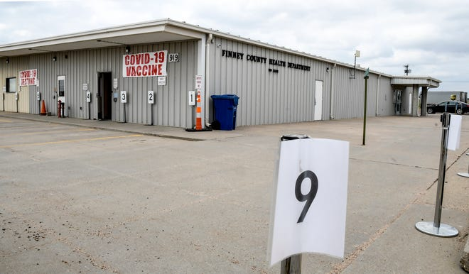 The Finney County Health Department is located at 919 Zerr Rd. It is the location now for the county's mass COVID-19 vaccination site.