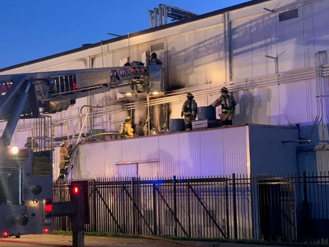 The cause of a fire Thursday evening at Monmouth's Smithfield Foods pork-processing plant remains under investigation. Firefighters responded around 6:30 p.m. Thursday to reports of an exterior wall producing smoke at the North 6th Street plant, and were on scene until around 11 p.m.