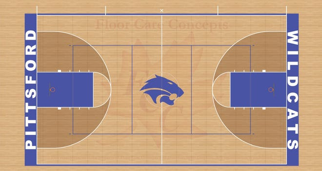 Pittsford Gym Floor concept