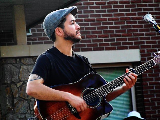 WNC singer/songwriter Ben Phantom.