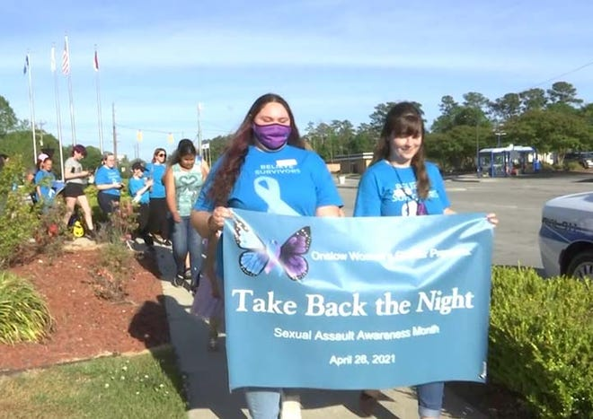 "Onslow Womens Center recently held its ""Take Back the Night"" Walk that began at Freedom Fountain to demonstrate support for sexual assault survivors and be a part of making safe spaces for everyone."