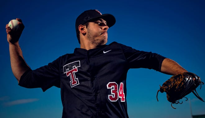 Tuttle High School pitcher Bode Brooks has a 10-0 record with two no-hitters and 98 strikeouts this season. Brooks, who is Type-I diabetic, has signed to play baseball for OU next school year.