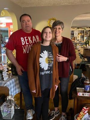 (From left to right) William Gross, Bekah Gross and Kristi Schmidt Gross