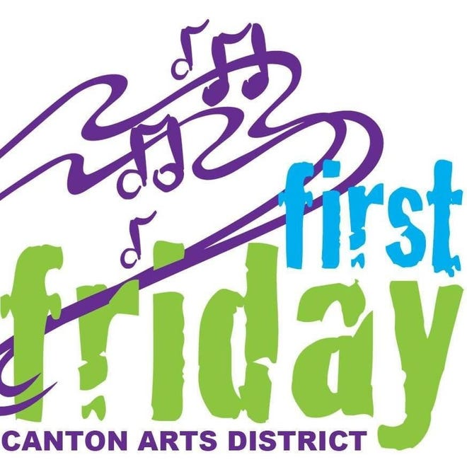 First Friday on May 7 in downtown Canton will feature live music at Centennial Plaza and a community drum circle.
