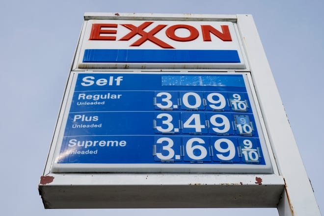 Exxon produced 3.8 million barrels of oil per day in the first quarter, up 3% from the fourth quarter of 2020.