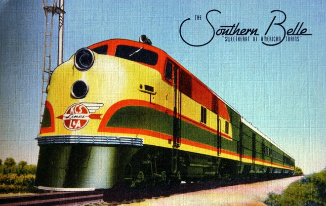 """The Southern Belle, """"sweetheart of American trains."""""""