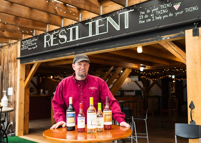 HARDWICK - Hardwick Vineyard and Winery owner John Samek.