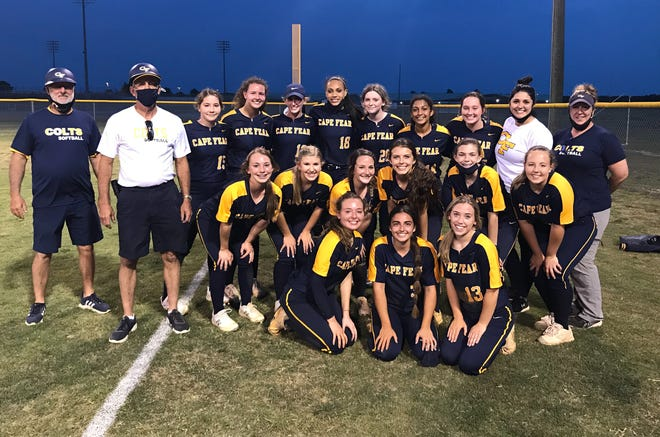 The Cape Fear softball team claimed the 2021 Patriot 4-A/3-A Conference Tournament title at Gray's Creek on Thursday night.