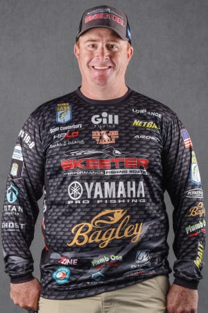 Scott Canterbury of Odenville will be among the top contenders in the Whataburger Basssmaster Elite tournament that begins Thursday on Lake Neely Henry, and is hosted by the City of Gadsden and Greater Gadsden Area Tourism.