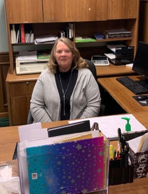 Julie McKibben is the administrative assistant for the Newcomerstown Emergency Rescue Squad.