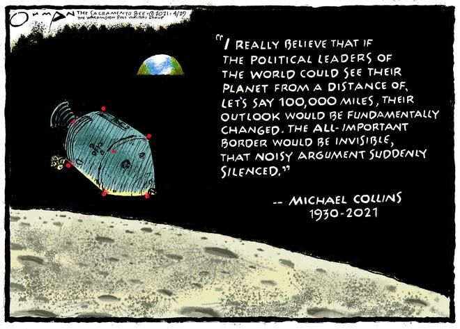 Astronaut Michael Collins passed away April 28.