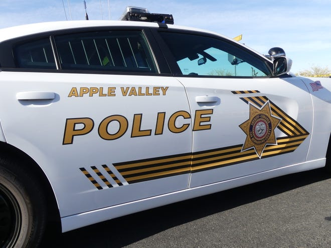 Authorities arrested a man and woman from Apple Valley on suspicion of child abuse after finding a 5-year-old girl with multiple injuries, including fractured ribs.