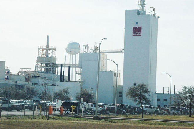 The Owens Corning Waxahachie plant.