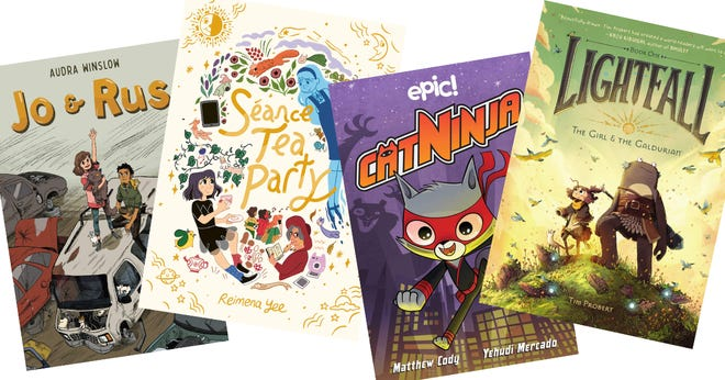 Librarian Nicole Guerra-Coon recommends children's graphic novels.