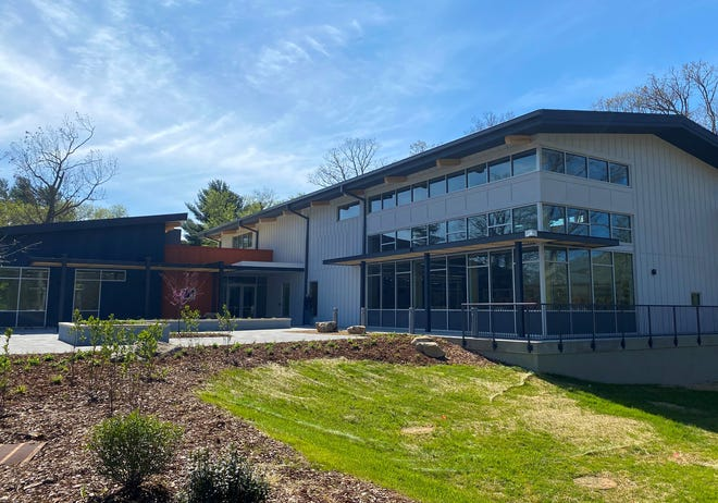 The new East Asheville Library had a grand opening May 1, 2021.