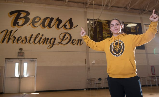 Delran's Emma Matera is the 2021 South Jersey Girls Wrestler of the Year.