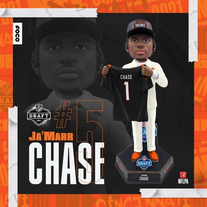 FOCO's Ja'Marr Chase Draft Day bobblehead