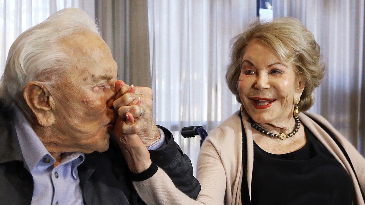 Anne Douglas, widow of late actor Kirk Douglas, dies at 102 1