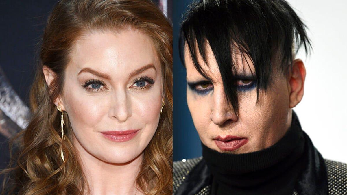 Actor Esmé Bianco sues Marilyn Manson, alleging sexual abuse 1