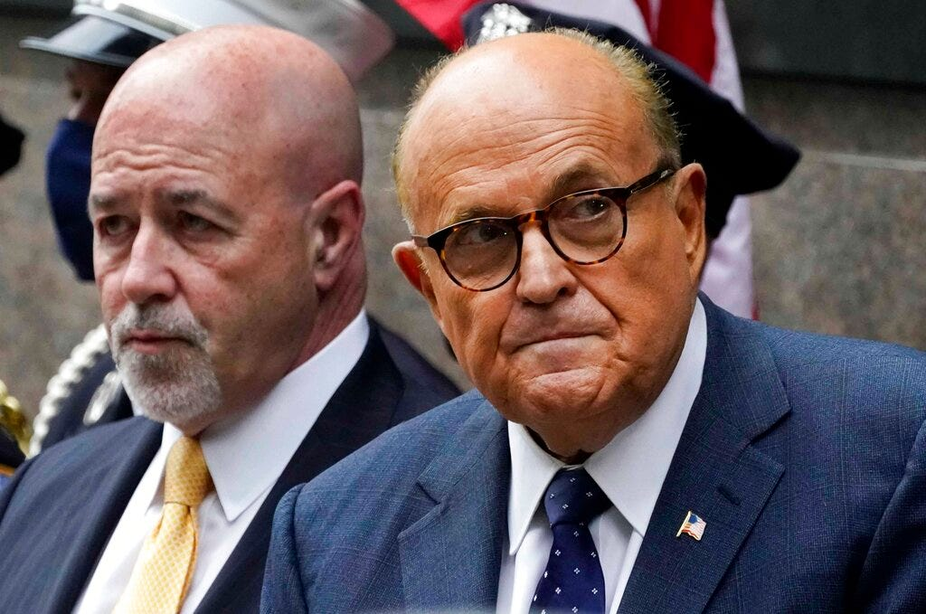 Giuliani probe includes look at move to oust ambassador 1