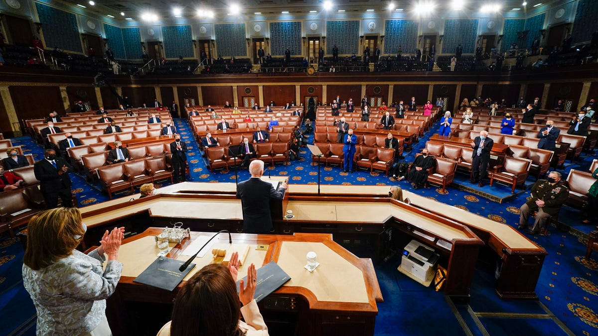 Biden reaches 26.9 million viewers for talk to Congress 2
