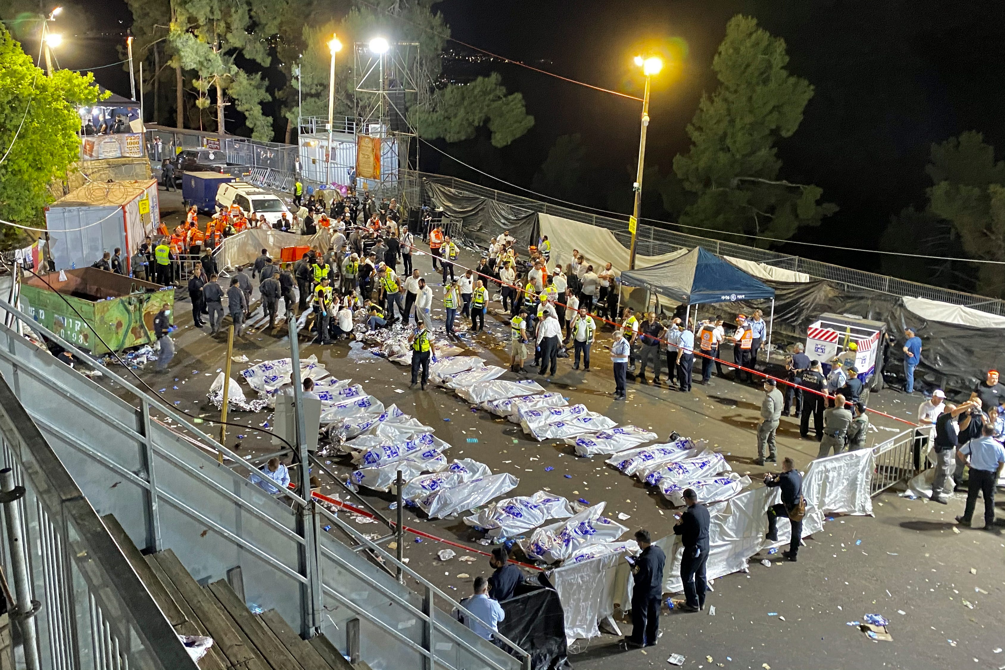 Religious festival stampede in Israel kills 44, hurts dozens 1