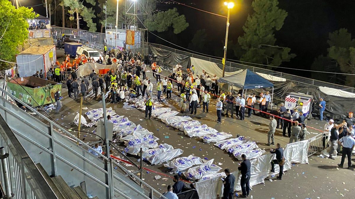 Religious festival stampede in Israel kills 44, hurts dozens 2