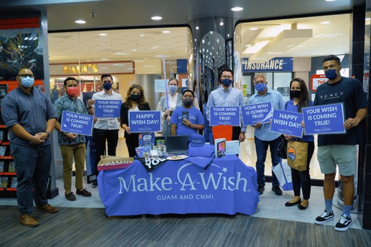 Make-A-Wish and Docomo Pacific with Jeremiah