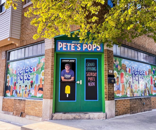 Pete's Pops, which sells fruit-flavored frozen pops, is opening a location May 1 at 1977 S. 71st St. in West Allis. It's the shop's third brick-and-mortar location.