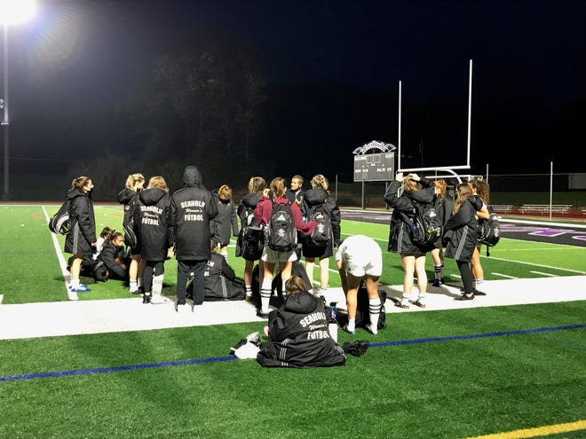 Seaholm meets after its short-handed tie against Bloomfield Hills.