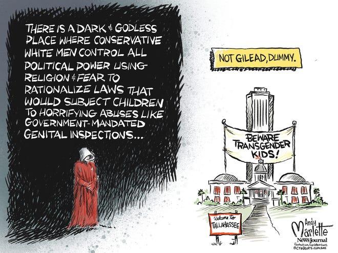 Marlette cartoon: When Florida imitates fiction...