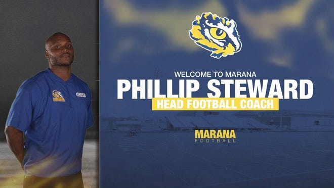 Former University of Houston star linebacker Phillip Steward has been named Marana head football coach. Photo courtesy of Phillip Steward.