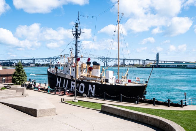 Officials said they hope to the Huron Lightship Museum May 31 when all the other museum sites open to their seasonal daily schedule. The lightship remains closed after high water levels last July lifted it from its riverfront foundation, severing natural gas and electrical lines.