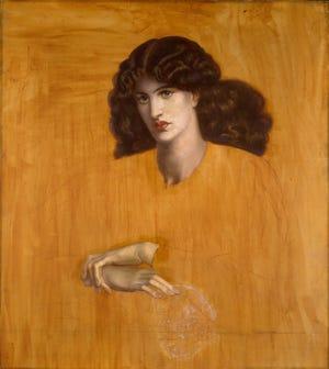 La Donna della Finestra, 1881 by Dante Gabriel Rossetti