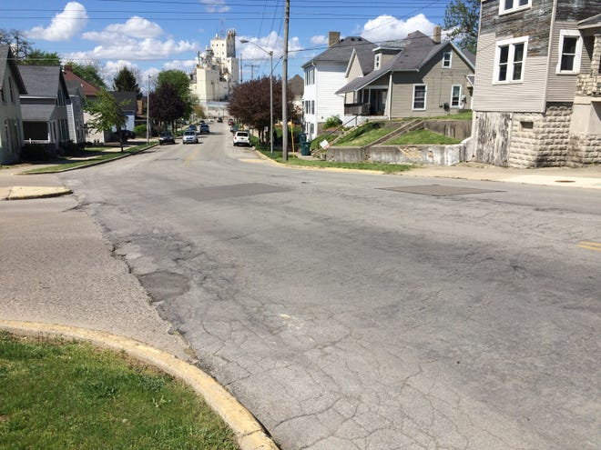The rehabilitation of North Fifth Street from North A to North D streets one of five 2021 projects that will be partially funded by a Community Crossings Grant.