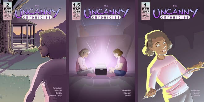 """""""The Uncanny Chronicles,"""" a comic book focused on the realities of dyslexia will soon be available nationwide as a graphic novel."""