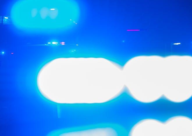 Ambulance emergency lights