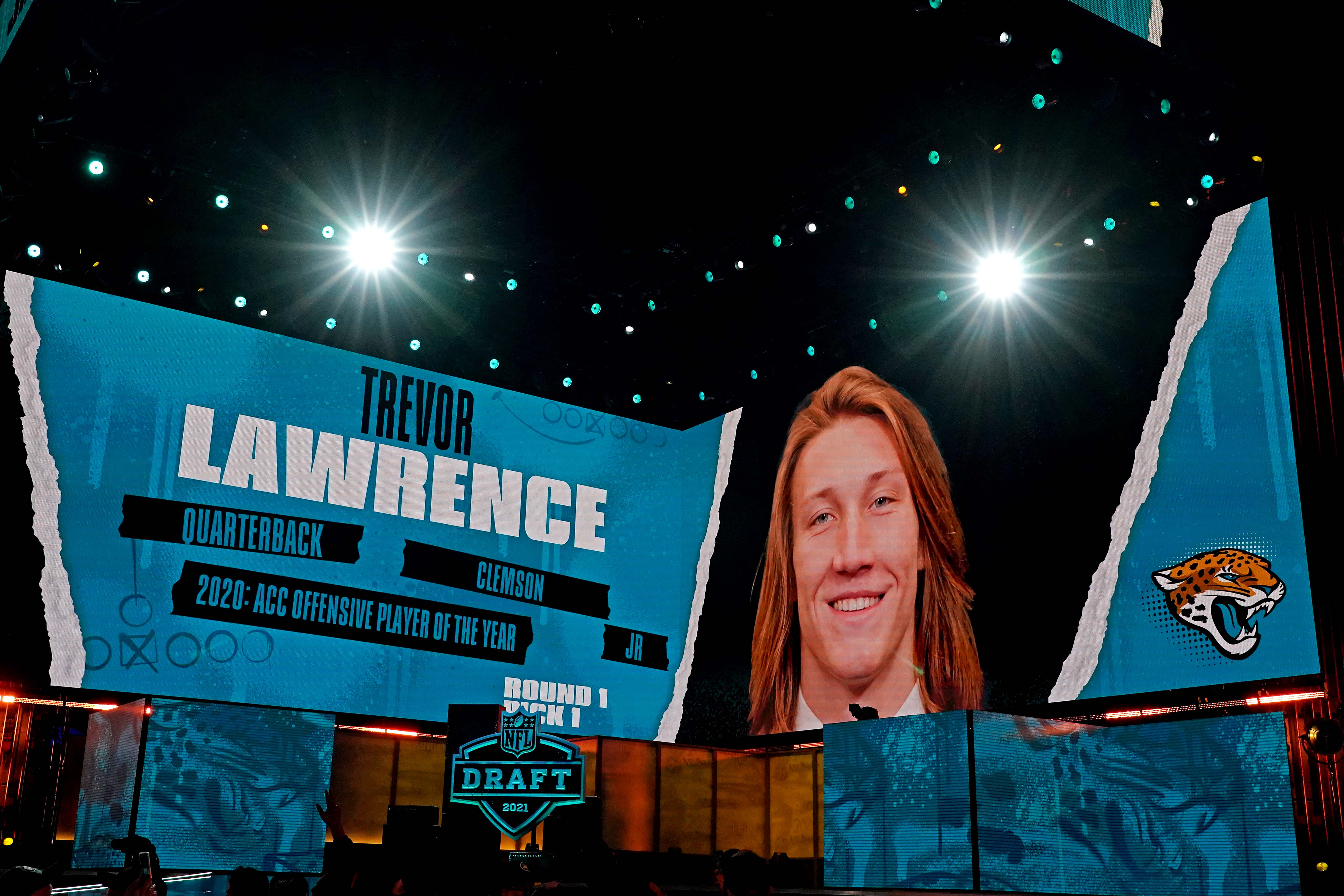 NFL draft winners, losers of Round 1: From Trevor Lawrence to Mac Jones, QBs reign