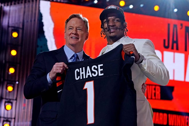 5. Cincinnati Bengals: Ja'Marr Chase, WR, LSU