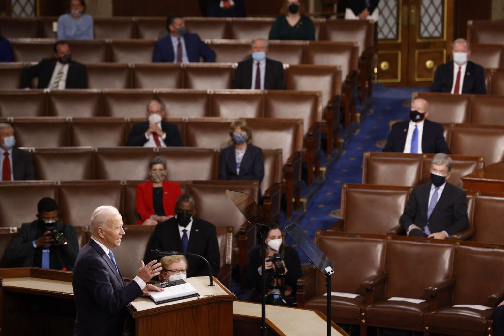 Biden and congress