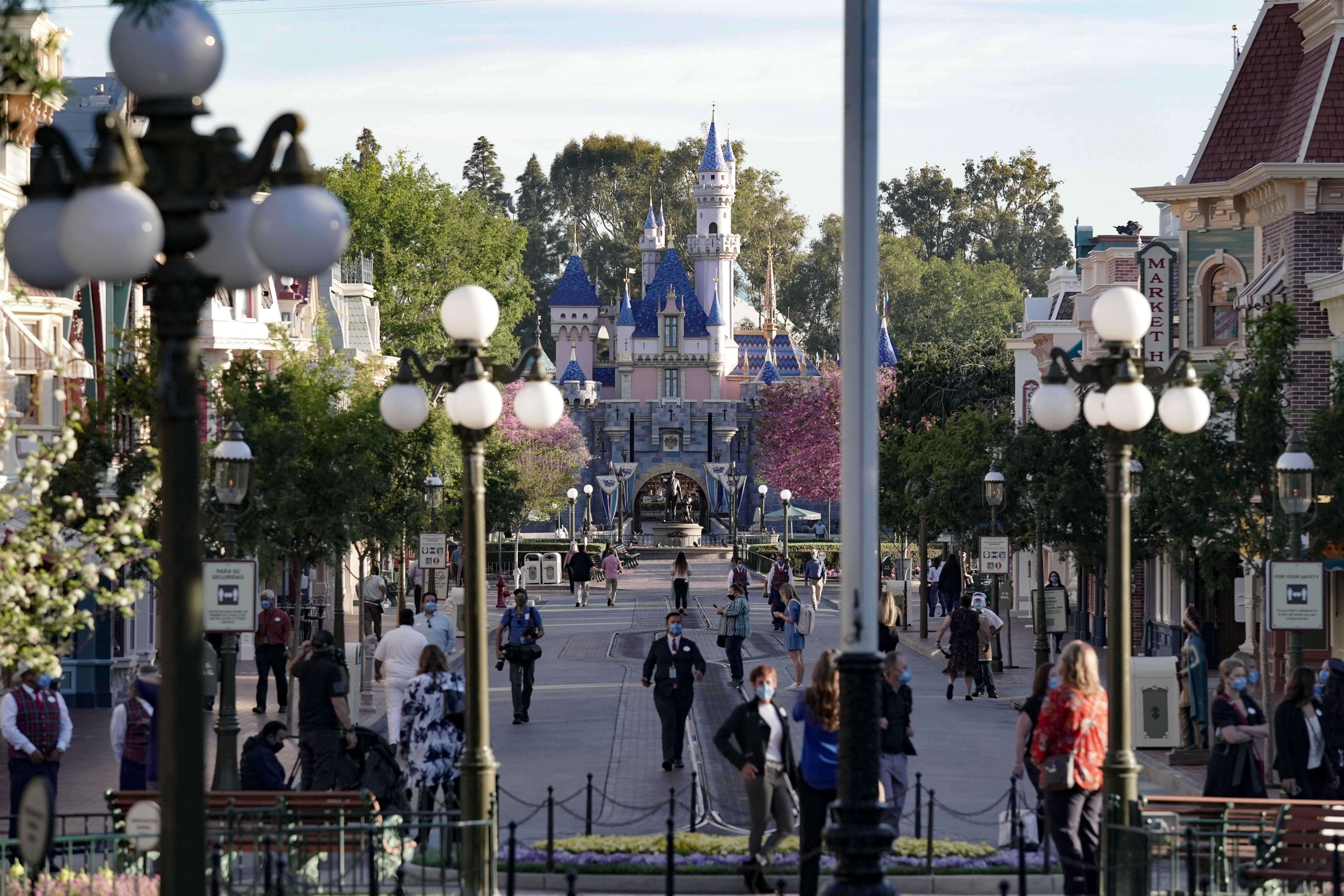 Disneyland reopens after more than a year being closed: See photos