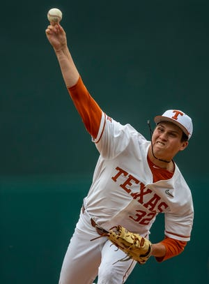 Texas star Ty Madden, who is 6-3 with a 2.55 ERA in 13 starts, was named the Big 12 pitcher of the year Monday.