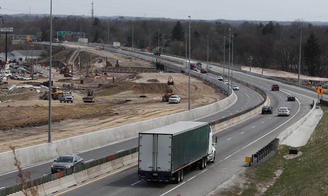Construction on I-76 at the Wooster Road North entrance/exit ramp is expected to wrap up next year. Other highway projects planned for the region in coming years are outlined in AMATS' Transportation Outlook 2045, which is up for public review until May 12.