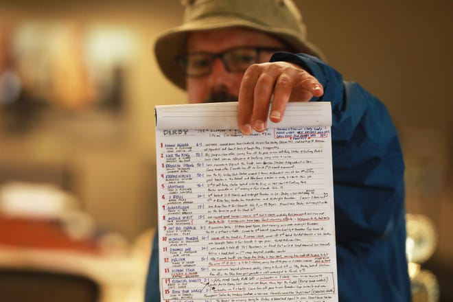 Columnist Michael Arace hand-researches all of the horses ahead of the Kentucky Derby to make his yearly pick.