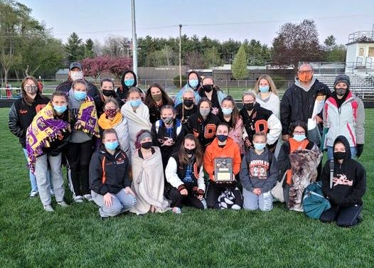The Quincy Lady Orioles won the championship of the Union City Track Invite, held at Concord High School on Friday