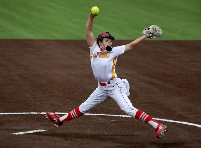 S&S' Dara Muller struck out 17 as the Lady Rams beat Maypearl in a Class 3A Region II bi-district contest at Little Elm.